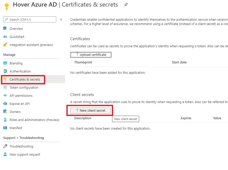 Register WebApp in Azure AD portal Step 5